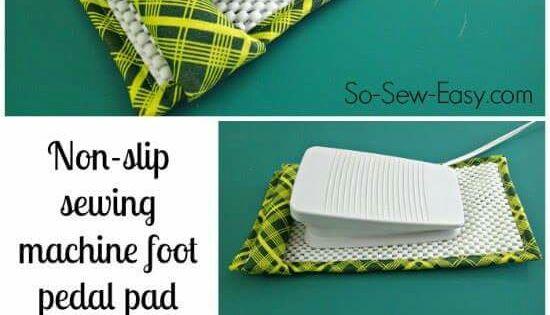 sewing machine pedal pad