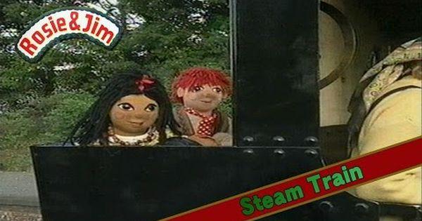 28 Rosie And Jim Steam Train Pat Hutchins 1994 Youtube Steam Trains Rosie Christmas Ornaments