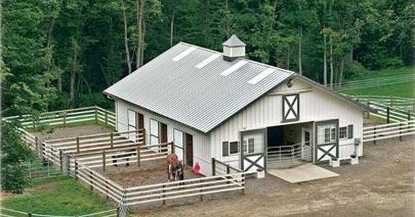 Need 6 Stalls Tack Room W Bathroom Feed Room Wash