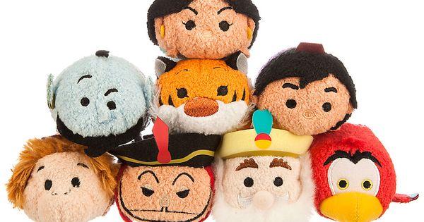 La Puntada De La Princesa Jasmine De Disney Tsum Tsum: Aladdin Tsum Tsum Collection