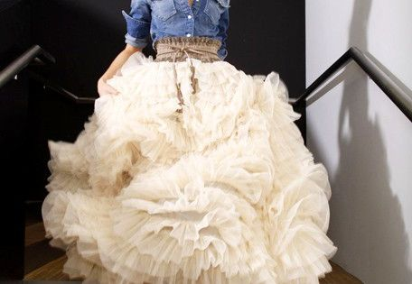 cowgirl wedding dress