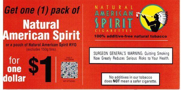 american spirits coupons printable