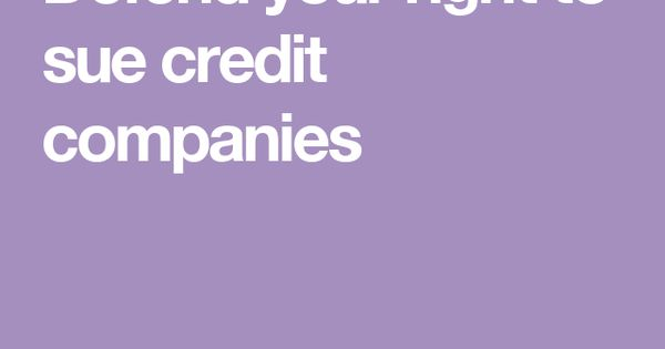 credit card companies most likely to sue