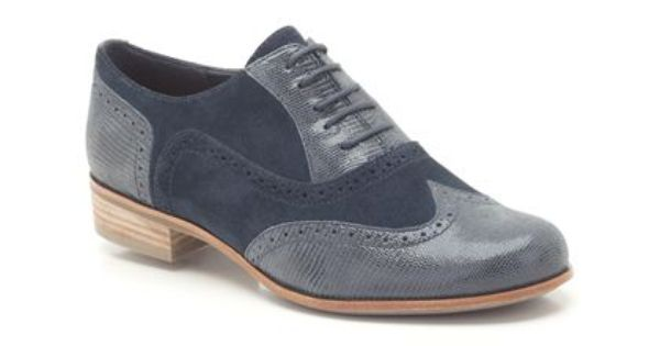 Clarks Hamble Oak Blue Suede Shoes