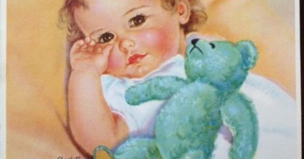 Vintage Baby Print by Charlotte Becker : Coisas para usar : Pinterest : Charlotte, Babies and ...