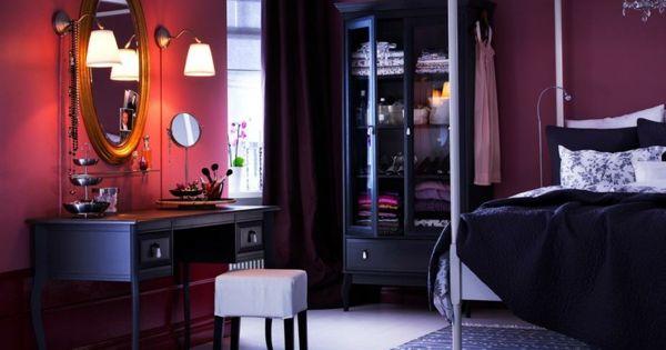 vintage lila schlafzimmer | wohnideen | pinterest | architektur, Deko ideen