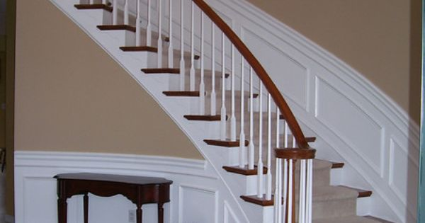 Best Staircase Chair Rail Wainscoting Molding Trim 400 x 300