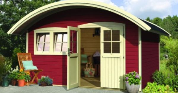 Abri habitable jordsund 2 en bois d 39 pic a de m - Cabane jardin karibu besancon ...