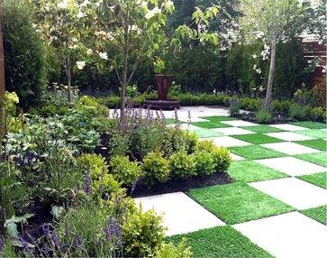 Courtyard Photos Contemporary Landscape Vancouver Thomas Kyle Landscape Designer Garden Design Garden Paving Small Yard Landscaping
