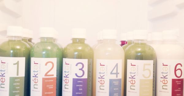 nekter juice cleanse 1, 2, 3, & 5 day cleanse