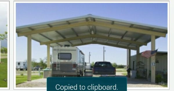 Rv Carport With Storage Bldg Rv Carports Carport Makeover Carport With Storage