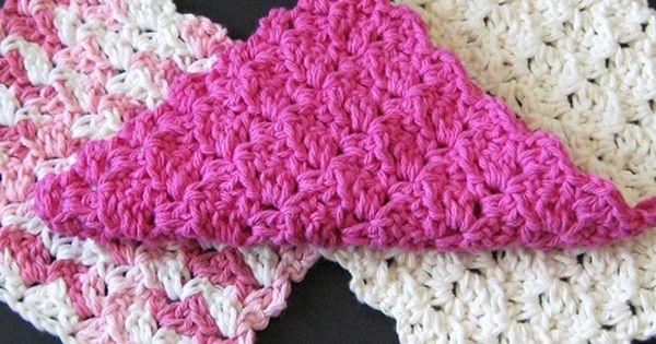 Very Easy Crochet Patterns Free : Very Easy Crochet Dishcloth Patterns PATTERN ? Crocheted ...