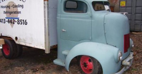 1939 Dodge Coe Truck Whit Box On It Pittsfield Ma United States