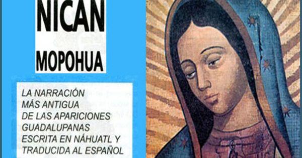 Descargar Pdf Nican Mopohua Relato De Las Apariciones De Santa