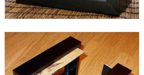 Freestanding ribba frames keychain display box for Cadres photo box ikea