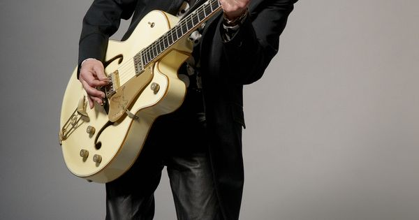 the gretsch guitar once again is profiled w/ the help of Brian