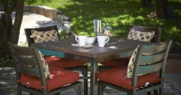 Bungalow Counter Height Outdoor Furniture Peak Season Pinterest Bungalow