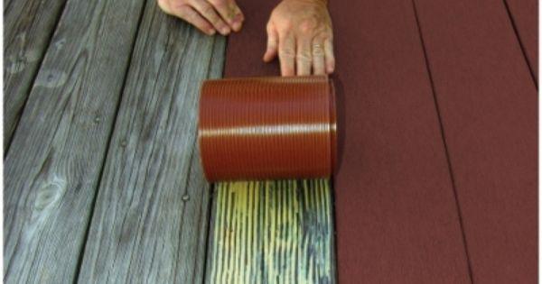 Profekt Deck Strip Redwood Outdoor Flooring 52 40