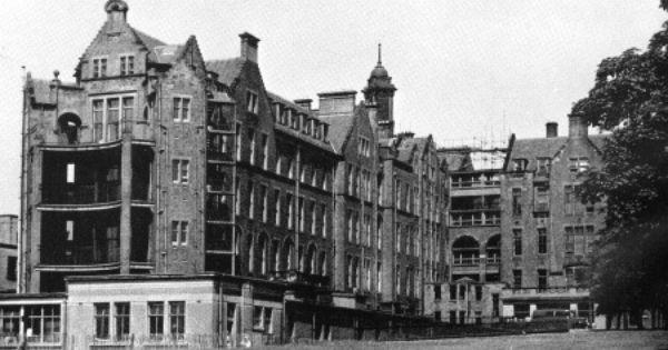Western Infirmary Glasgow Scotland Glasgow City Old Hospital