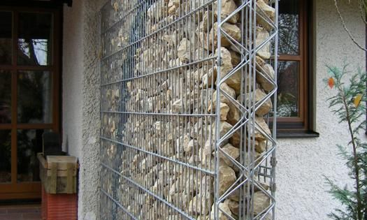 Pared gaviones paredes gaviones muros gaviones muros - Malla para gaviones ...