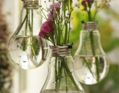 How to create Light Bulb Flower Jars | DIY | Crafts |