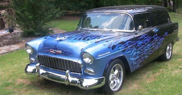 1955 Chevrolet Sedan Delivery Coches De Ensueno Autos Motores