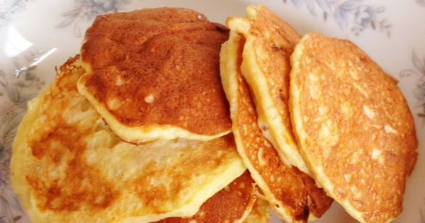 Banana Pancakes! 100% Natural Pancake Recipe - gluten free, dairy free, flourless,
