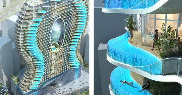 Ohm Residential Tower, Bandra - Mumbai Luxury modern designs of buildings make
