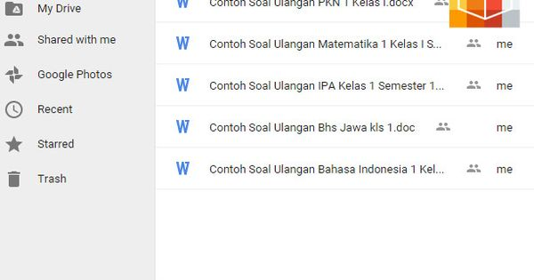 Contoh Soal Ulangan Kelas I Sd Semester 1 Dan 2 Pkn Matematika Ipa Bahasa Indonesia Dan Jawa