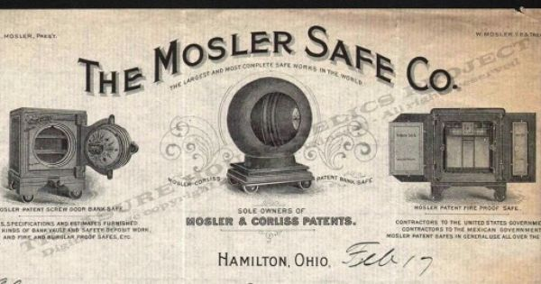 Mosler Safe Hamilton Ohio Safe