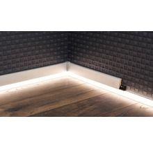 Led Kanal Alu Fur Sockelleiste 16x42x2400 Mm Mit Bildern Sockelleisten Led Lichtband Beleuchtungskonzepte