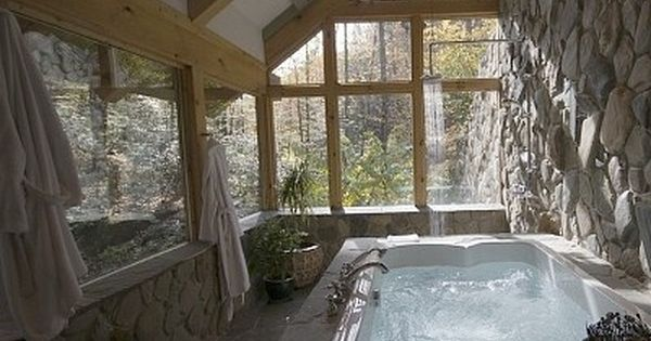 Sun Room Jacuzzi Tub Bathroom For My Dream Mountain Home For