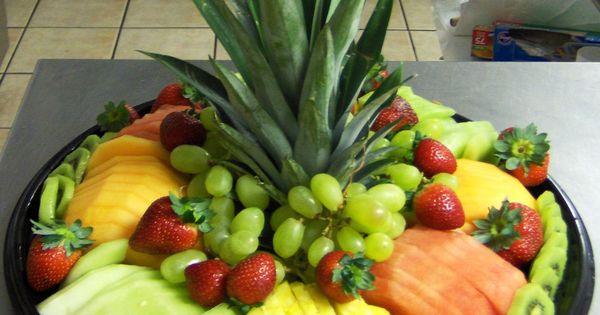 tea party fruit display ideas | HAWAIIAN FRUIT SALAD TRAY: On a