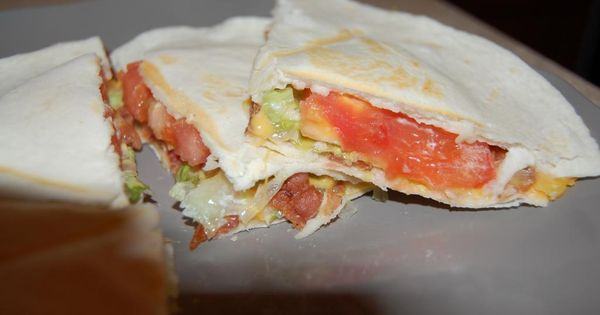 BLT Quesadillas, Hungry Girl Recipe