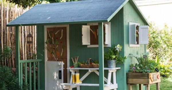 cabane de jardin pour enfants castorama idees jardin pinterest jardin pour enfant cabane. Black Bedroom Furniture Sets. Home Design Ideas