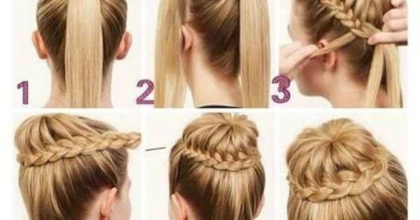 Peinados faciles y elegantes peinados con coletas f ciles y elegantes peinados pinterest - Peinados faciles y elegantes ...