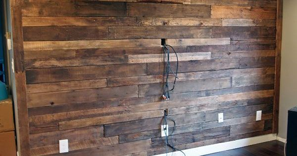 20 Diy Pallet Wall Gray Rooms Be Cool And A House
