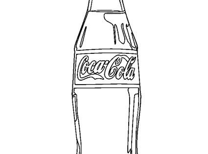 coca cola coloring pages - photo#12