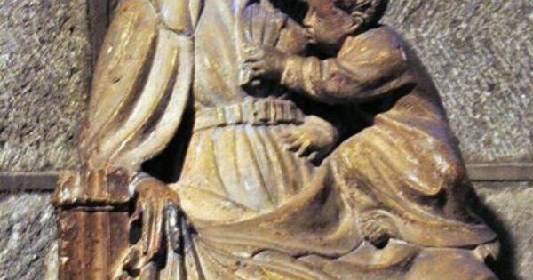 La vierge marie allaitant l 39 enfant j sus statue du xv me si cle clermo - Mondial relay clermont ferrand ...