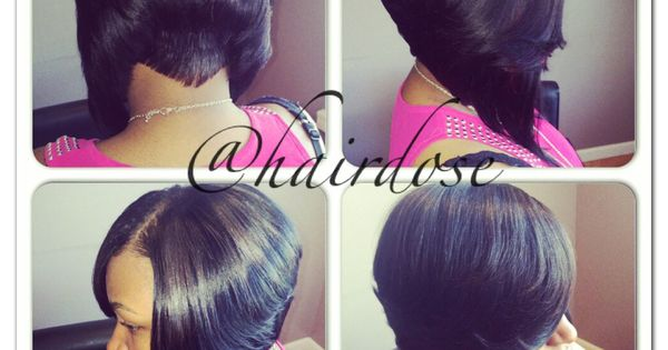 Bob Quickweave With Tapered Back