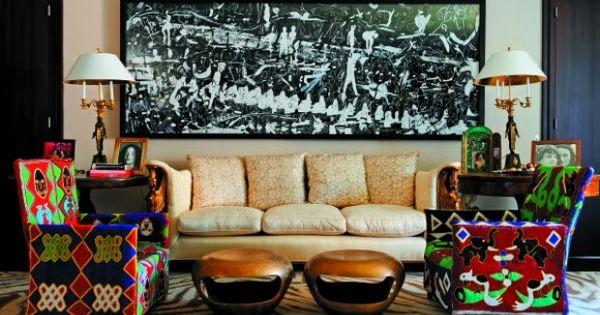 Diane von furstenberg 39 s apartment in paris beautiful rooms pinterest paris diane von - Introir dijane ...