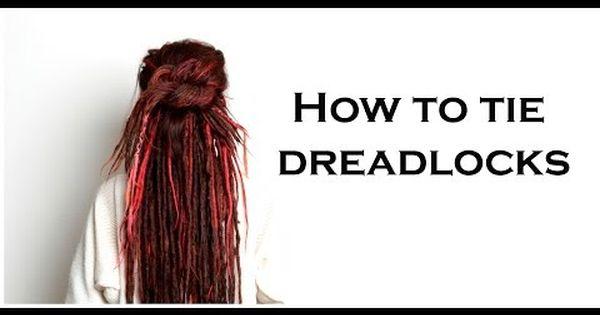 How To Tie Up Your Dreadlocks Dreadlock Updo Dreadlock Style In Seconds Dreadlocks Dreadlock Style Dreadlock Hairstyles