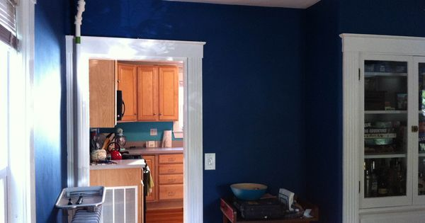 Behr deep blue sea paint colors of note pinterest deep blue sea feng shui and bath How long does it take to paint a living room