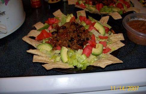 Taco Salad Recipe Low Sodium