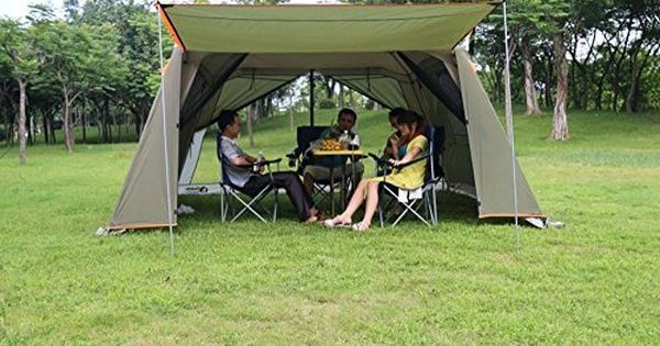 Robot Check Tent Awning Family Tent Camping Tent