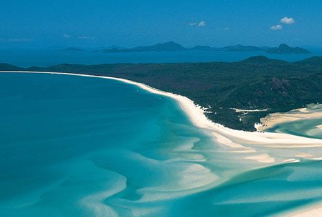 Whitehaven Beach in Whitsunday Islands, Australia my other dream destination