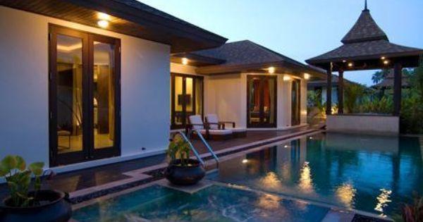 Modern thai house design architecture House modern