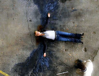 Angel's Wings from the TV series, Supernatural. I love the burnt out