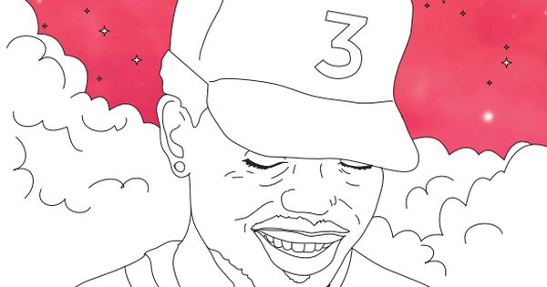 Chance The Rapper S Coloring Book Lyrics Are Now In A Real And Free Coloring Book Coloring Books Coloring Book Chance Chance The Rapper