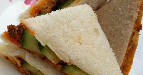Malaysian style sardine sandwich recipes pinterest for Sardine lunch ideas